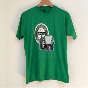 Heineken Vintage 70s 80s Iron On Beer T-Shirt